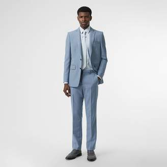 Burberry Classic Fit Wool Tailored Trousers