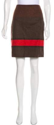 Akris Knee-Length Wool Skirt