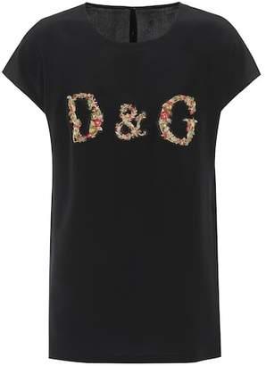 Dolce & Gabbana Beaded silk top