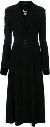 Yohji Yamamoto fitted trench coat