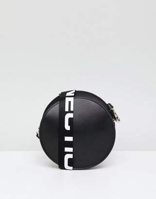 French Connection Renn Logo Leather Bag