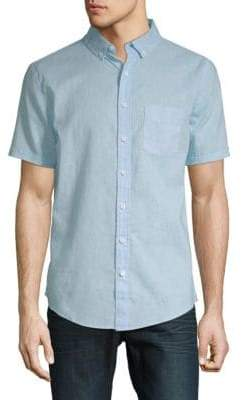 Onia Jack Short-Sleeve Button-Down Shirt