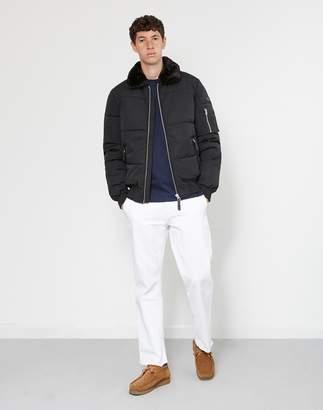 Schott NYC Schott Padded Short Jacket Black