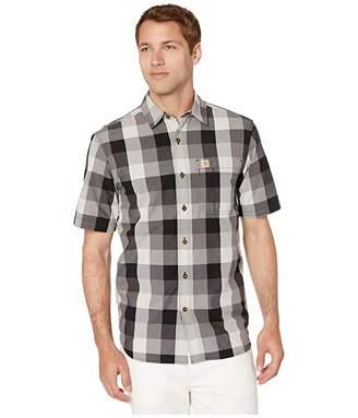 Carhartt Essential Plaid Open Collar Short Sleeve Shirt