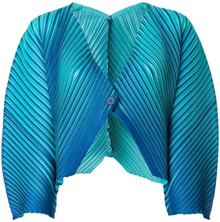 Cropped-Jacke mit Farbverlauf