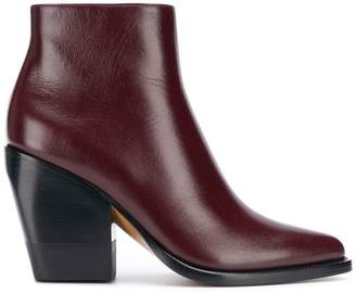 Chloé high ankle pointed toe