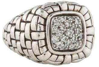 Scott Kay Diamond Basket Weave Ring