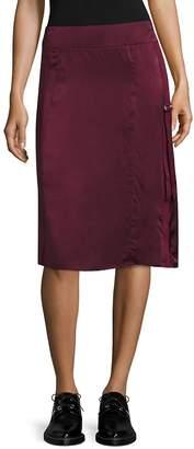 Public School Women's Sana Silk Fitted Skirt