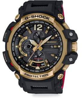 G-Shock Goldtone Resin Strap Watch