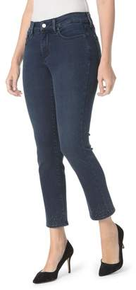 NYDJ Sheri Embroidered Ankle Skinny Jeans