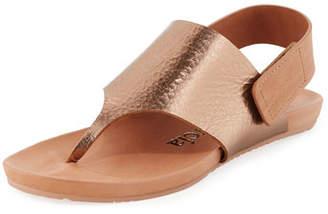 Pedro Garcia Jacqueline Metallic Thong Sandal