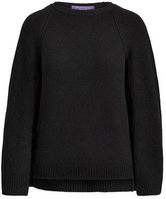 Ralph Lauren Cashmere Sweater Cape $1,690 thestylecure.com