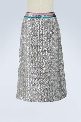 Mary Katrantzou Sigma sequins skirt