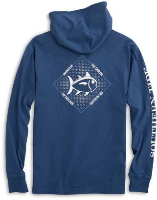 DAY Birger et Mikkelsen Southern Tide Skipjack Diamond Hoodie Long Sleeve T-shirt