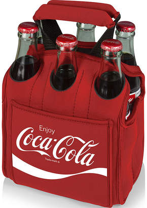 Picnic Time Coca-Cola Six-Pack Insulated Cooler Tote