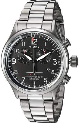 Timex Waterbury Traditional Chrono with Bracelet Watches
