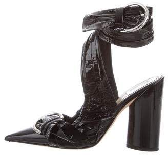 Christian Dior 2016 Conquest Patent Leather Pumps