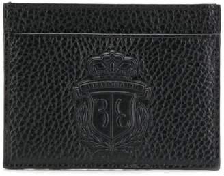 Billionaire logo embossed cardholder