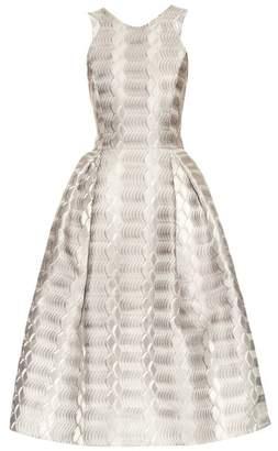 Mary Katrantzou Laguna A-line jacquard dress