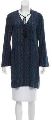 Derek Lam Silk Zigzag Dress w/ Tags