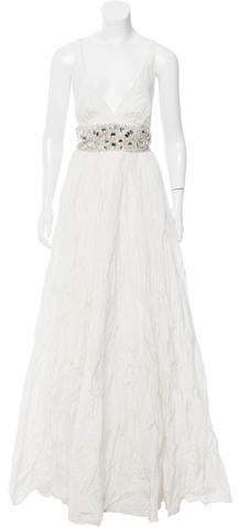 Nicole Miller Zoe Embellished Wedding Gown w/ Tags