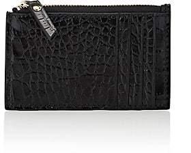Barneys New York Women's Top-Zip Card Case - Black