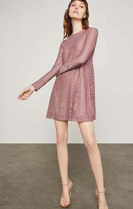 BCBGMAXAZRIA Natyly Long-Sleeve Lace Dress
