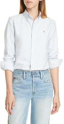 Polo Ralph Lauren Harper Stripe Oxford Button-Down Shirt