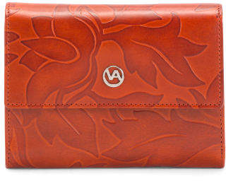 Made In Italy Leather Vachetta Wallet