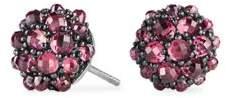 David Yurman Cable Berries Faceted Gemstone & Stainless Sterling Earrings