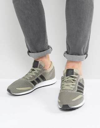 adidas Los Angeles Sneakers In Beige