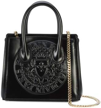 Balmain embossed logo tote bag