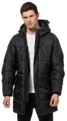 G Star G-Star - Black Padded Hooded Parka