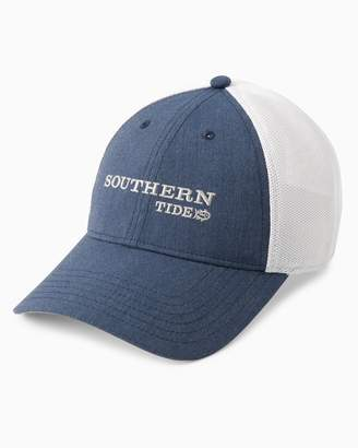 Southern Tide ST Embroidered Fitted Trucker Hat