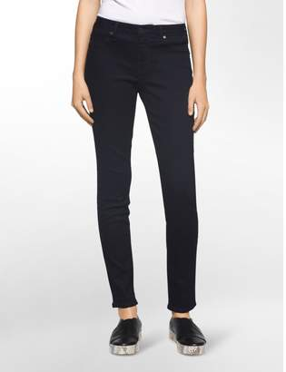 Calvin Klein dark rinse leggings