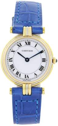 Cartier Must Vendôme yellow gold watch