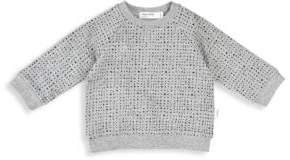 Baby's & Little Kid's Miles Basic Organic Cotton Stretch Sweatshirt