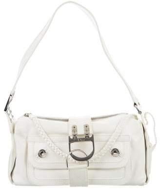 Christian Dior Leather Flight Bag