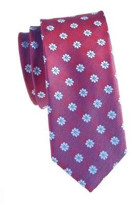 HUGO BOSS Wool & Silk Floral Tie