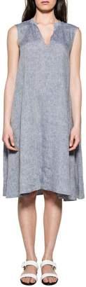 Bagutta Light Blue Selena Linen Dress