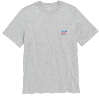 Vineyard Vines USA Whale Pocket T-Shirt