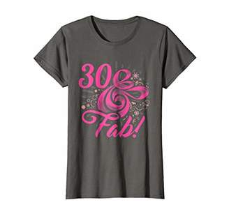 DAY Birger et Mikkelsen Womens 30 & Fabulous 30th Birthday Mother's Love Mom Ladie Gift