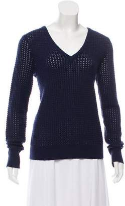Equipment Wool V-Neck Sweater