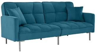 Orren Ellis Geary Plush Modern Sleeper
