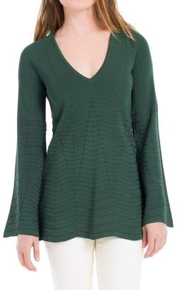 Max Studio Long Sleeved Textural Knitted Pullover
