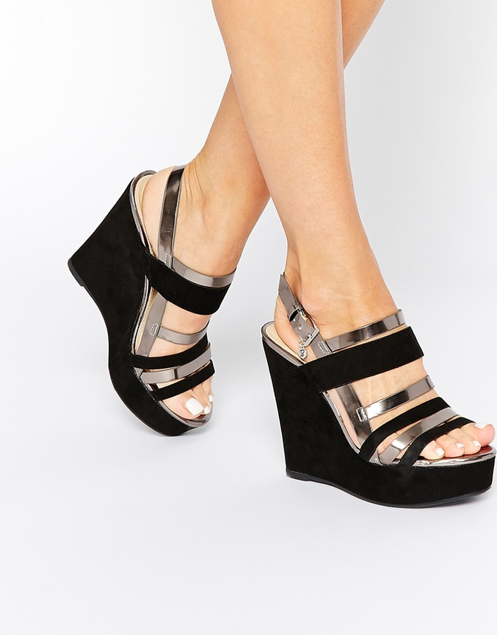 Blink Strappy Platform Wedge Sandals