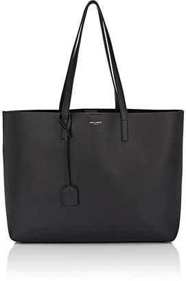 Saint Laurent Women's East-West Shopper Leather Tote Bag