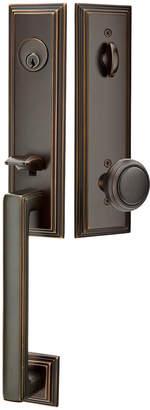 Rejuvenation Wilshire Exterior Tubelatch Door Set with Norwich Knob