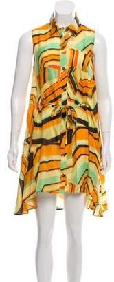 Thakoon Silk Sleeveless Printed Dress