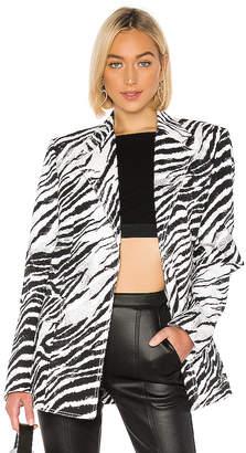 BROGNANO Zebra Blazer
